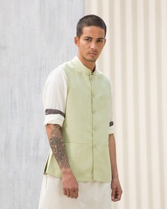 Nehru Jacket - Green