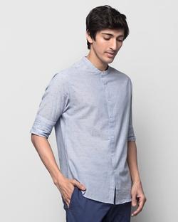 Nawab Shirt - Sky Blue