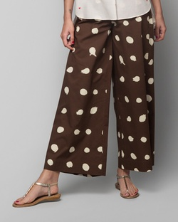Hit Snooze Pyjamas - Brown & Ivory