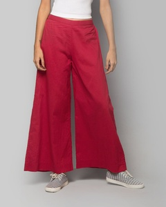 Cotton Trouser - Red