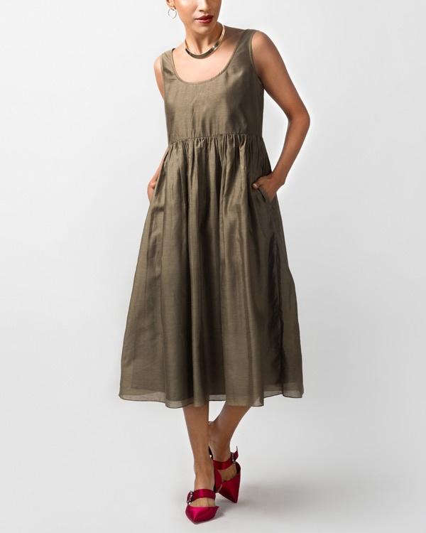 Ashwani Dress - Olive