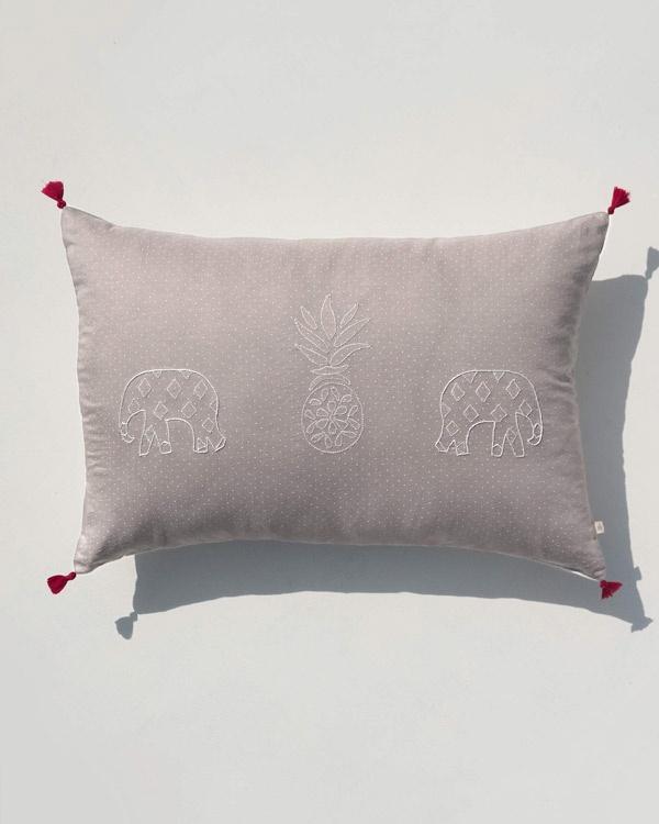 Pineapple Pillow - Grey