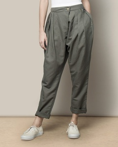 Overlap Trouser - Charcoal