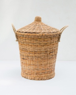 Twilight Bamboo Basket With Cover