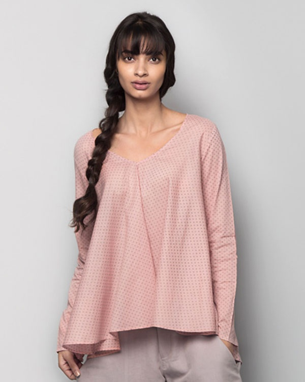 Last Minute Dotted Picnic Top