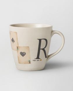 Alphabet R Mug - Stoneware