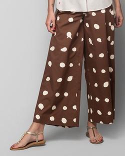 Hit Snooze Pyjamas - Brown & Ivory