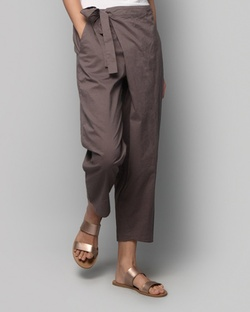 Wren Narrow-ankle Pants - Charcoal