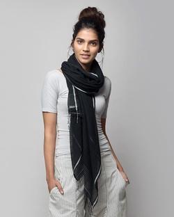 Ajanta Wrap - Charcoal