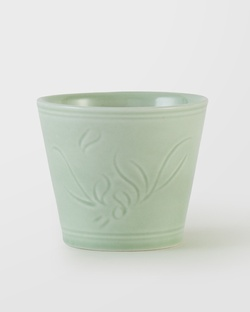 Celadon Herbal Teacup