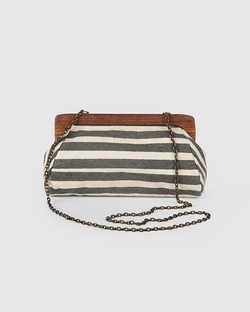 Berber Striped Clutch