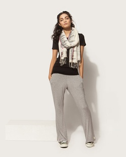Jinan Yoga Pants - Soft Grey
