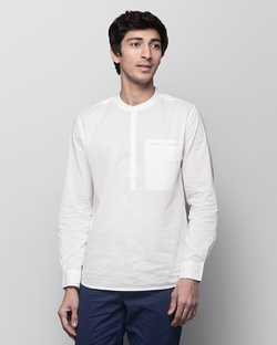 Pondicherry Shirt - White