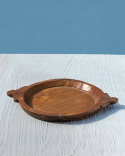 Gong Antique Tray