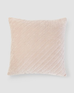 Asante Velvet Cushion - Taupe