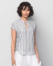 Kimono Stripe Top