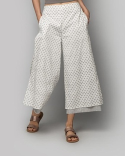 Marshmellow Double-layered Pants