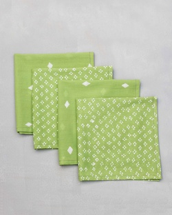 Diamond Dinner Napkins (Set of 4)
