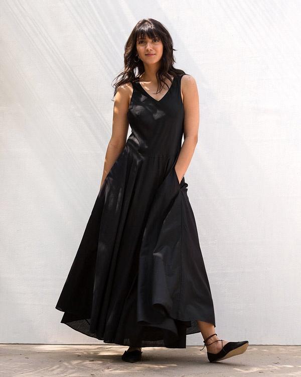 Cross Back Dress