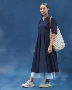 Nomad Dress - Blue