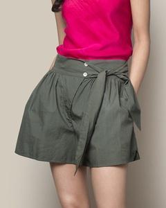 Poplin Shorts - Charcoal