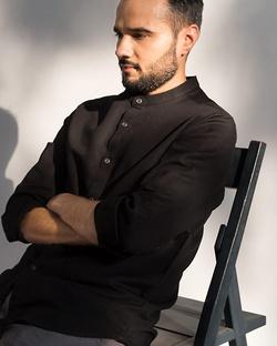 Nawab Shirt - Black