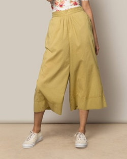 Easy Culottes - Leaf Green