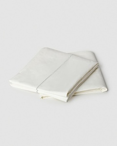 Solid Sheeting (Set of 4) - Ivory & Silver