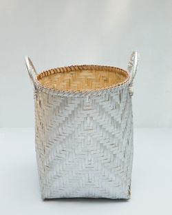 Twilight Bamboo Basket