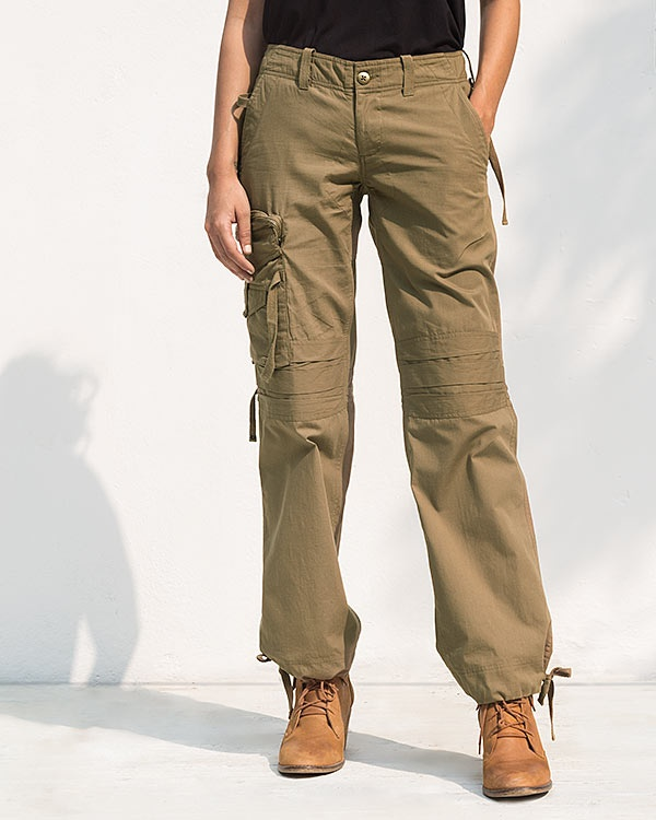 Cargo Pants - Covert Green