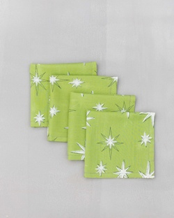 Starburst Cocktail Napkins (Set of 4)