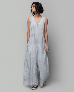 Terado Check Jumpsuit
