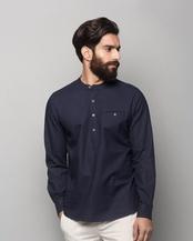 Pondicherry Shirt - Navy