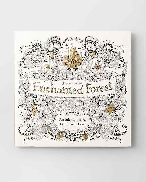 Enchanted Forest An Inky Quest Colouring Book From House Home Collection At Nicobar