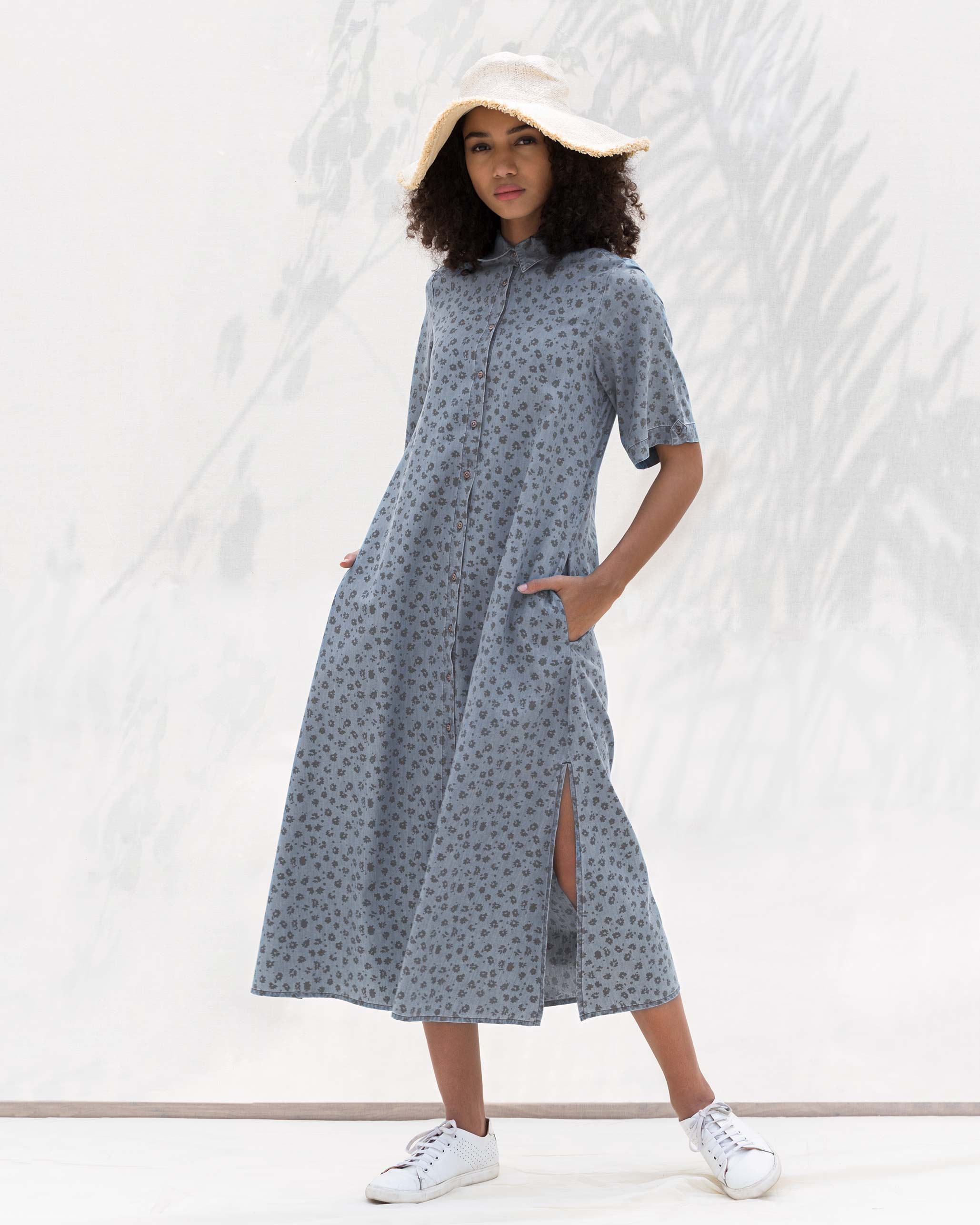 Short Sleeve Travel Dress