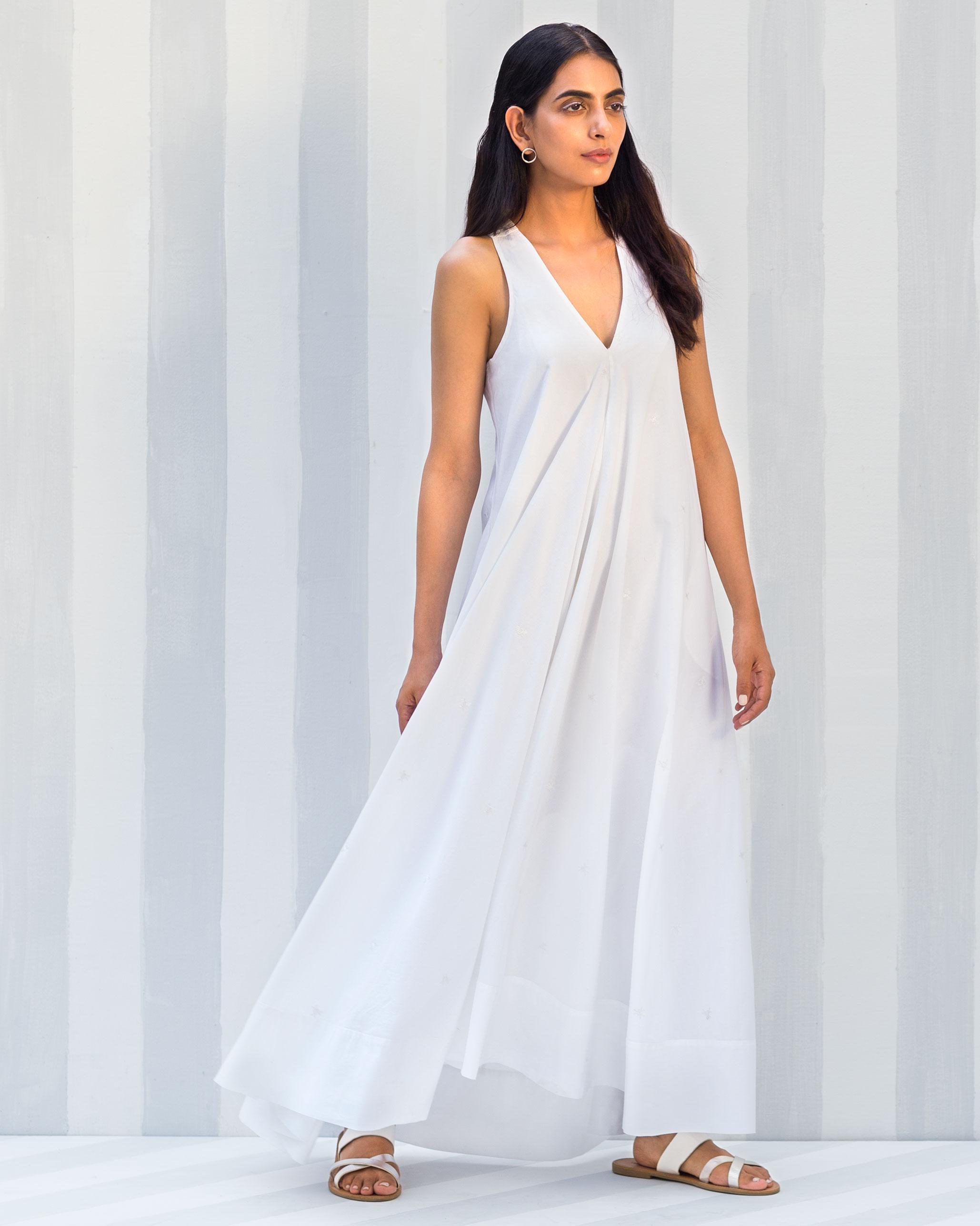 bedd8c76f39 Buy Goa Maxi Dress - White Women Dresses Online