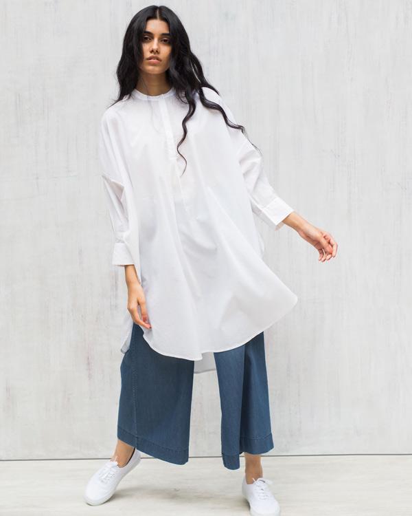 349924eb895 Buy Lazy Sunday Tunic - White Women Kurtas   Tunics Online