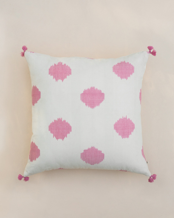 8d15af007f2 Ikat Dot Cushion
