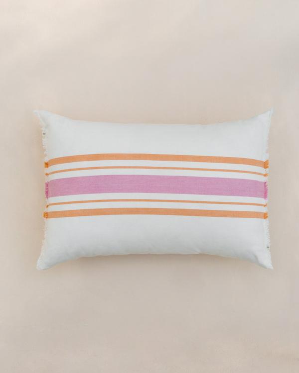 7b901467d58 Stripey Lumbar Pillow