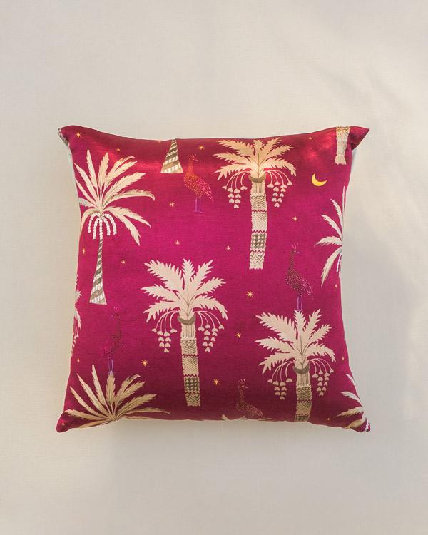 72130166b57 Palm Tree Cushion - Pink